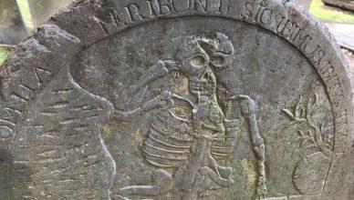 Skeleton Kings Chapel Burial Ground
